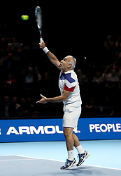 Mansour Bahrami during the Andy Murray Live Event at the SSE Hydro, Glasgow.