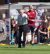 Rangers manager Mark Warburton  - Dundee v Rangers, Ladbrokes Scottish Premiership at Dens Park<br /> <br />  - &copy; David Young - www.davidyoungphoto.co.uk - email: davidyoungphoto@gmail.com