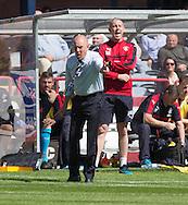 Rangers manager Mark Warburton  - Dundee v Rangers, Ladbrokes Scottish Premiership at Dens Park<br /> <br />  - &copy; David Young - www.davidyoungphoto.co.uk - email: davidyoungphoto@gmail.com