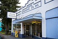 Det finska bageriet Home Bakery i Astoria, Oregon. <br /> Bageriet startades 1910 av tre finska emigranter Elmer Wallo, Charlie Jarvanin och Arthur A. Tilander. I dag drivs bageriet av Arthur A. Tilanders barnbarn James Tilander.<br /> <br /> Foto: Christina Sj&ouml;gren