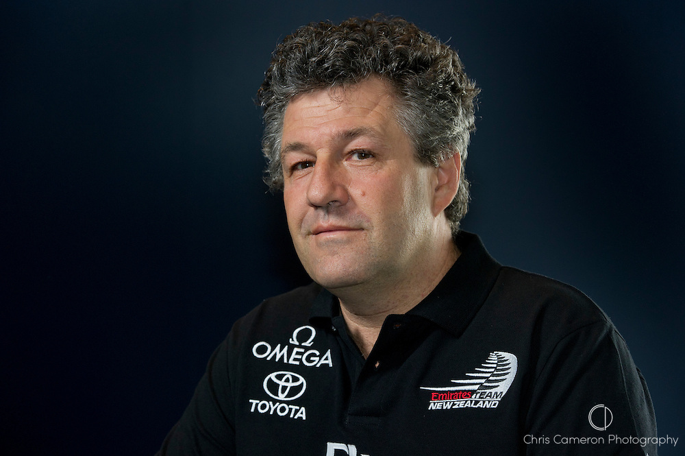 Giovanni Belgrano, Emirates Team New Zealand designers meeting for the 34thAmerica's cup Catamaran. 19/10/2010