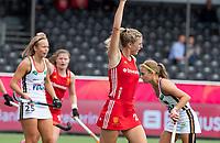 ANTWERP - BELFIUS EUROHOCKEY Championship.   Germany-England (1-1) women . Lily Owsley (Eng) scored the 0-1 goal. WSP/ KOEN SUYK