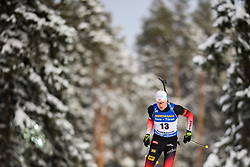 March 9, 2019 - –Stersund, Sweden - 190309 Vetle SjÃ¥stad Christiansen of Norway competes in the Men's 10 KM sprint during the IBU World Championships Biathlon on March 9, 2019 in Östersund..Photo: Petter Arvidson / BILDBYRÃ…N / kod PA / 92252 (Credit Image: © Petter Arvidson/Bildbyran via ZUMA Press)