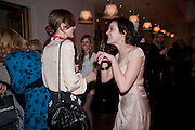 kEIRA KNIGHTLEY; RACHEL STIRLING  The Society of London Theatre lunch for all the nominees for the 2010 Laurence Olivier Awards. Haymarket Hotel, 1 Suffolk Place, London, 2 March 2010<br /> kEIRA KNIGHTLEY; RACHEL STIRLING  The Society of London Theatre lunch for all the nominees for the 2010 Laurence Olivier Awards. Haymarket Hotel, 1 Suffolk Place, London, 2 March 2010 *** Local Caption *** -DO NOT ARCHIVE-© Copyright Photograph by Dafydd Jones. 248 Clapham Rd. London SW9 0PZ. Tel 0207 820 0771. www.dafjones.com.