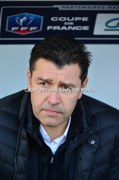 Hubert FOURNIER - 04.01.2014 - Lens / Lyon - Coupe de France<br />Photo : Dave Winter / Icon Sport