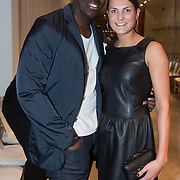 NLD/Amsterdam/20140308 - Modeshow Mart Visser 2014 S/S, Iris van den Ende en partner
