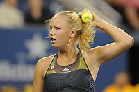 TENNIS - US OPEN 2010 - NEW YORK FLUSHING MEADOWS (USA) - 30/08 TO 12/09/2010 - PHOTO : VIRGINIE BOUYER / TENNIS MAG / DPPI - WEEK 2 - CAROLINE WOZNIACKI (DEN)