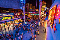 Fremont Street Experience from the D Hotel