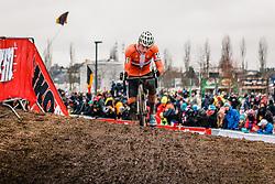 Mathieu VAN DER POEL of NED during the Men Elite race, UCI Cyclo-cross World Championship at Bieles, Luxembourg, 29 January 2017. Photo by Pim Nijland / PelotonPhotos.com | All photos usage must carry mandatory copyright credit (Peloton Photos | Pim Nijland)