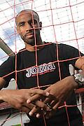 Football. Mali footballer and Sevilla player Frédéric Kanouté. Photo: Tati Quinones