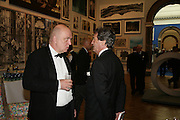 JAMES FENTON AND MELVYN BRAGG, Royal Academy Annual Dinner. Piccadilly. London. 5 June 2007.  -DO NOT ARCHIVE-© Copyright Photograph by Dafydd Jones. 248 Clapham Rd. London SW9 0PZ. Tel 0207 820 0771. www.dafjones.com.