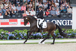 Wandres Frederic, GER, Sir Skyfall<br /> World Championship Young Dressage Horses <br /> Ermelo 2016<br /> © Hippo Foto - Leanjo De Koster<br /> 30/07/16