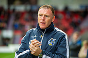 Bristol Rovers Manager Graham Coughlan during the EFL Sky Bet League 1 match between Doncaster Rovers and Bristol Rovers at the Keepmoat Stadium, Doncaster, England on 19 October 2019.