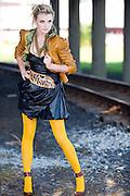 Cape Town Model, Leani wearing YDE Designer, Tasleem Bulbulia, MUA Yasmeena