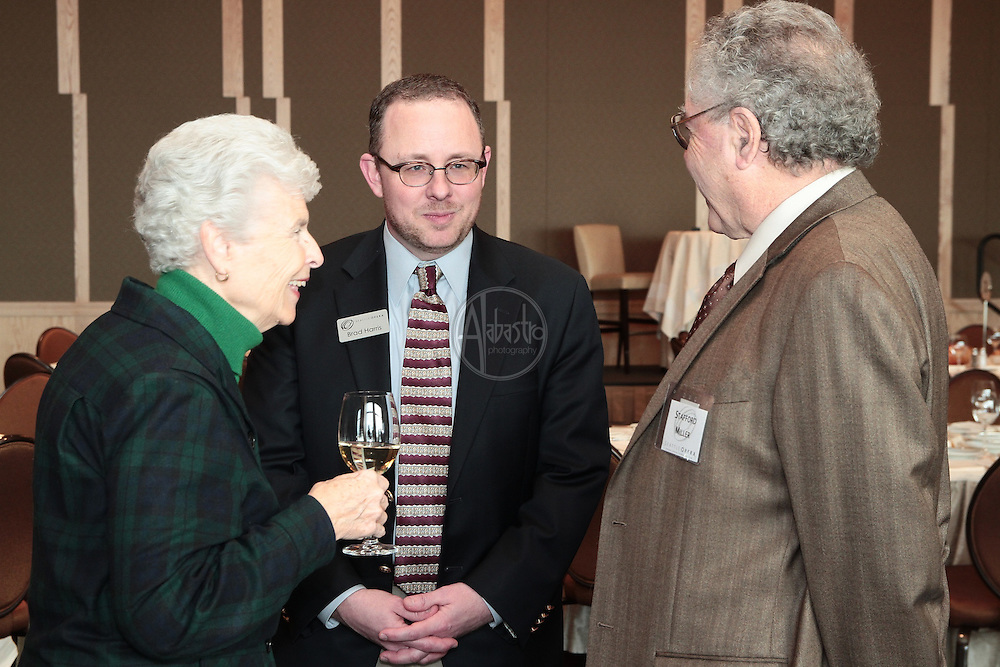 Seattle Opera January 2012 Donor Luncheon with conductor Carlo Montanaro.