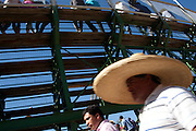 Rancheras are originally from Mexico but most popular in rural Chile, as people gathers in a mix of rodeo, fair and music events with live groups costumed as &quot;Rancheros&quot; but playing tropical style music.<br />