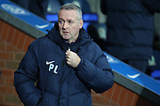 Blackburn Rovers manager Paul Lambert before the Sky Bet Championship match between Blackburn Rovers and Fulham at Ewood Park, Blackburn, England on 16 February 2016. Photo by Simon Brady.