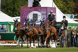 De Ronde Koos, (NED), Alino, Palero, Santana, Ulano<br /> FEI European Championships - Aachen 2015<br /> © Hippo Foto - Dirk Caremans<br /> 19/08/15