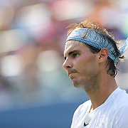 Rafael Nadal, Spain, in a action against Ivan Dodig, Croatia, during the Men's Singles competition at the US Open. Flushing, New York, USA. 31st August 2013. Photo Tim Clayton