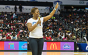 The CIAA commisioner, Jacqueline (Jacqie) McWilliams, thanks the CIAA fans for their support to the tournament.