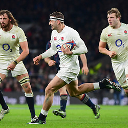 Jonny May of England during the RBS Six Nations match between England and France at Twickenham Stadium on February 4, 2017 in London, United Kingdom. (Photo by Dave Winter/Icon Sport)