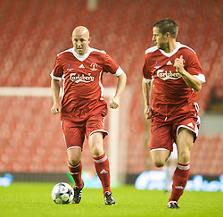 LIVERPOOL, ENGLAND - Thursday, May 14, 2009: Liverpool Legends' Gary McAllister during the Hillsborough Memorial Charity Game at Anfield. (Photo by David Rawcliffe/Propaganda)