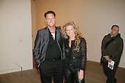 ROSS URWIN AND KELLY HOPPEN . Dali and Film. Tate Modern. 30 May 2007.  -DO NOT ARCHIVE-© Copyright Photograph by Dafydd Jones. 248 Clapham Rd. London SW9 0PZ. Tel 0207 820 0771. www.dafjones.com.