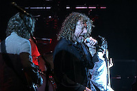Robert Plant formerly of Led Zeppelin performing at The Beacon on June 27, 2005...
