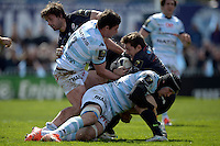 Henry Chavancy / Alex Goode   - 05.04.2015 - Racing Metro 92 / Sarances - 1/4Finale European Champions Cup<br />
