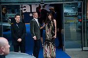 Anton Bilton; Lisa B, Ark fundraising dinner and auction. ( Absolute Return for Kids ) Old Eurostar Terminal. Waterloo Station. London. 4 June 2009