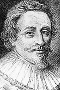 Grotius (Hugo de Groot) 1583-1645, Dutch theologian and jurist. Engraving from Alexandre Saverien 'Histoire des Philosophes Modernes', Paris 1762.