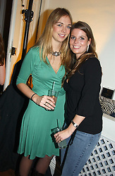 Left to right, TORY COOK and CATHERINE LANGDON at a party to celebrate the 4th anniversary of Quintessentially held at 11 Grosvenor Place, London  SW1 on 14th December 2004.<br /><br />NON EXCLUSIVE - WORLD RIGHTS