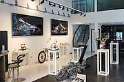 DUBAI, UAE - APRIL 30, 2016: The MB&F M.A.D. (Mechanical Art Devices) Gallery is located in Alserkal Avenue in Dubai' Al Quoz Industrial Area.