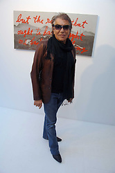 ROBERTO CAVALLI at an exhibition of paintings by artist Rene Richard at the Scream Gallery, Bruton Street, London on 3rd April 2008.<br />