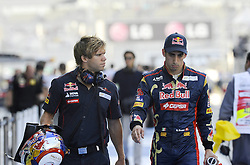 12.11.2011, Yas-Marina-Circuit, Abu Dhabi, UAE, Grosser Preis von Abu Dhabi, im Bild Sebastien Buemi (SUI),  Scuderia Toro Rosso  // during the Formula One Championships 2011 Large price of Abu Dhabi held at the Yas-Marina-Circuit, 2011/11/12. EXPA Pictures © 2011, PhotoCredit: EXPA/ nph/ Dieter Mathis..***** ATTENTION - OUT OF GER, CRO *****