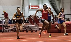 60 M Dash during Hoosier State Relays, on 03, 25, 2017 Tania Perryman-F