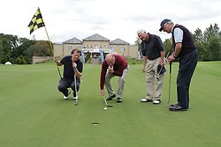 Corporate Golf Photography in Dublin, Ireland.    Fergus Shanahan,.Barry Kiely ,.Maurice Wolridge,.Joe Cogan,.