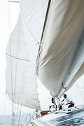 Under sail. Aboard the Meta IV, Mergui Archipelago.