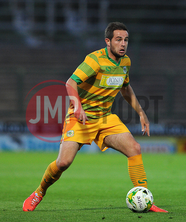 Yeovil Town's Matt Dolan - Photo mandatory by-line: Harry Trump/JMP - Mobile: 07966 386802 - 30/07/15 - SPORT - FOOTBALL - Pre Season Fixture - Yeovil Town v Bristol City - Huish Park, Yeovil, England.