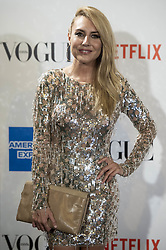 September 13, 2018 - Madrid, Spain - Berta Collado attends to photocall of Vogue Fashion Night Out 2018 in Madrid, Spain. September 14, 2018. (Credit Image: © Coolmedia/NurPhoto/ZUMA Press)