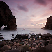 One of the rocky beaches close to cabo da Roca