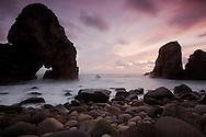 One of the rocky beaches close to cabo da Roca