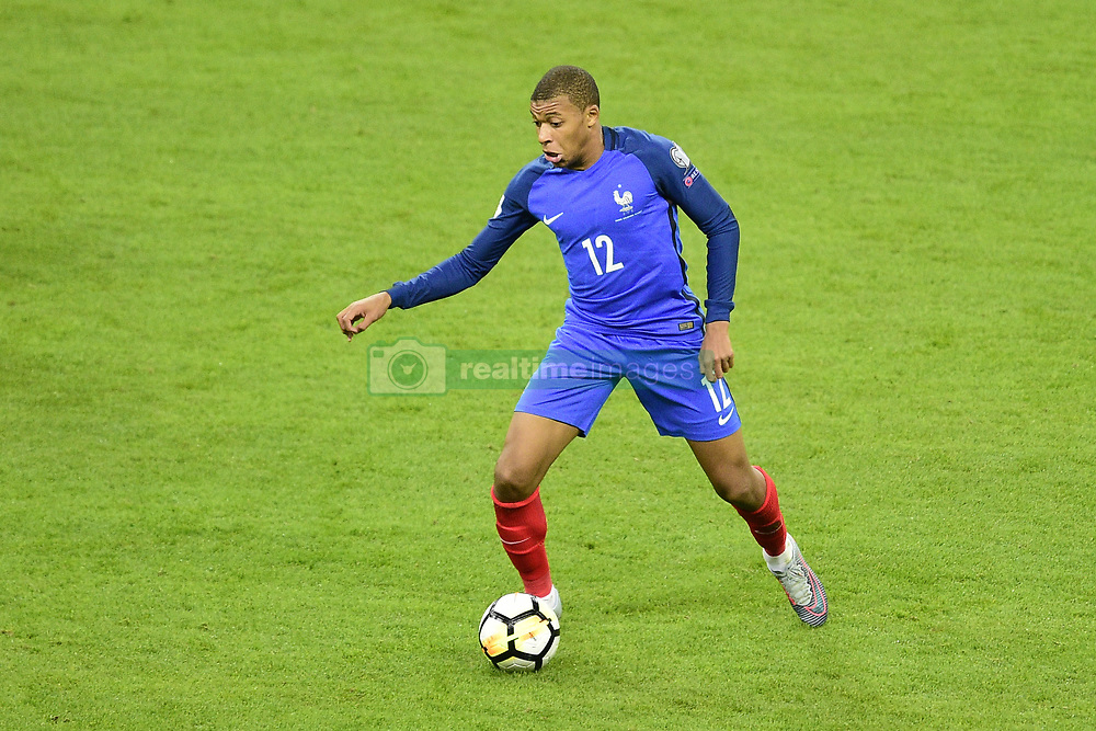 October 10, 2017 - St Denis, France, France - Kylian Mbappe  (Credit Image: © Panoramic via ZUMA Press)