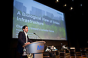 Morning Keynote Speaker, Peter Torrellas, Chief Technical Advisor for Siemens, presented A Biological View of Urban Infrastructure at .Manhattan Chamber of Commerce's Transportation Transformation Global Summit at NYIT in New York on April 26, 2012.