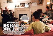 VSD - 27 Decembre 2012.Homoparentalite.Des familles comme les autres