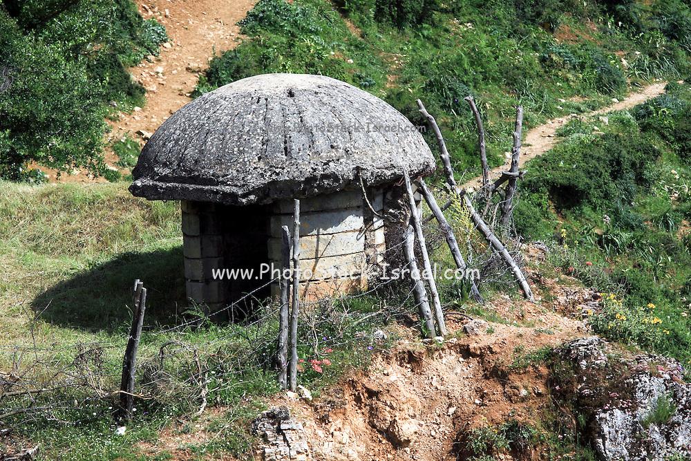 Albania, Antigone, Concrete Bunker,