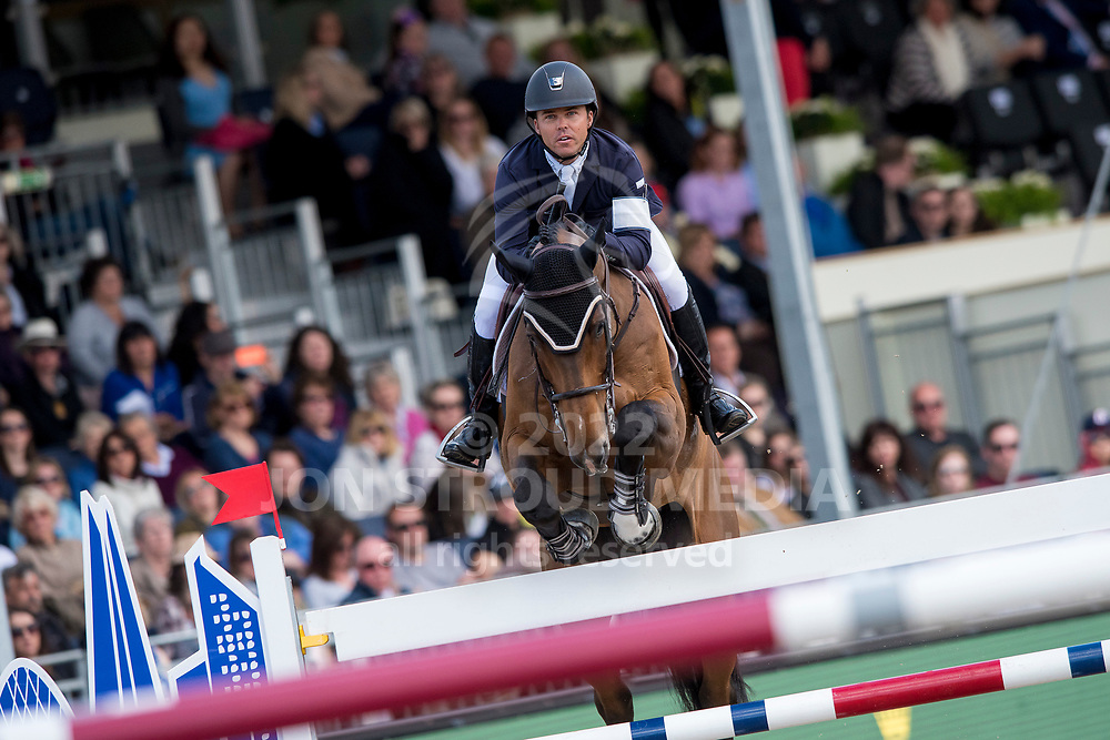 Kent Farrington  (USA) & Sherkan D´Amaury - Rolex Grand Prix - CSI5* Jumping - Royal Windsor Horse Show - Home Park, Windsor, United Kingdom - 14 May 2017