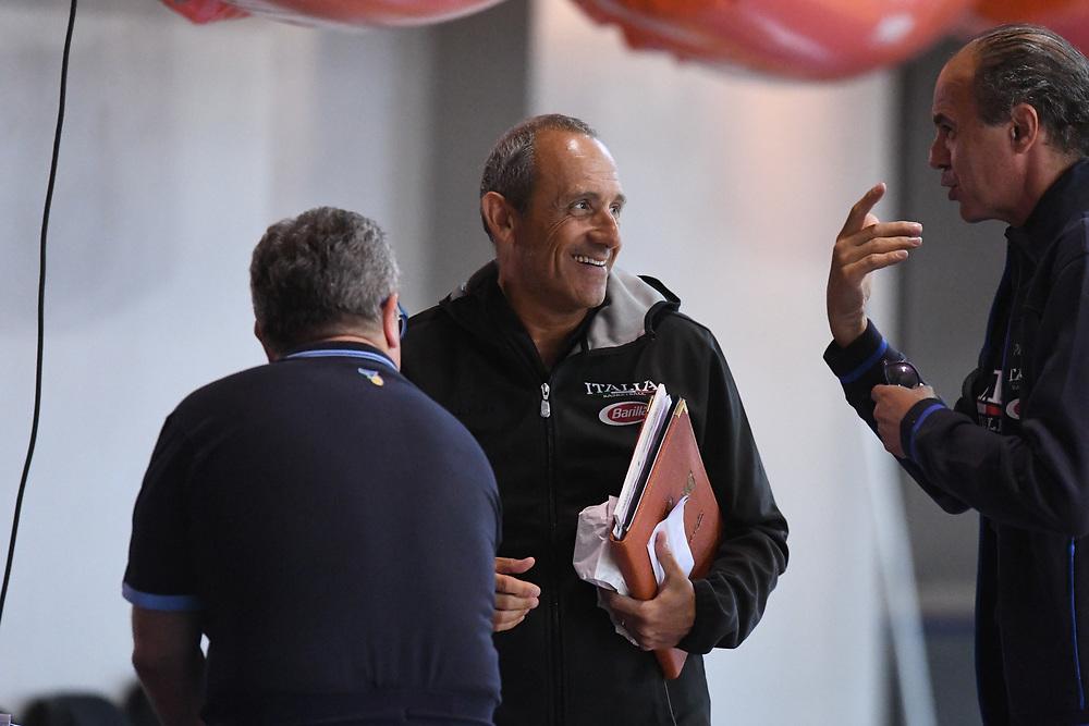 Ettore Messina<br /> Raduno Nazionale Maschile Senior<br /> Allenamento pomeriggio<br /> Folgaria, 23/07/2017<br /> Foto Ciamillo-Castoria/ GiulioCiamillo