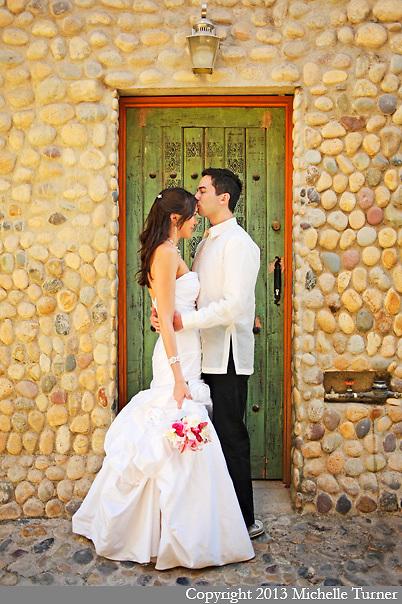 Karen and Rene's Las Caletas Wedding.  Images by Puerto Vallarta Wedding Photographer Michelle Turner.