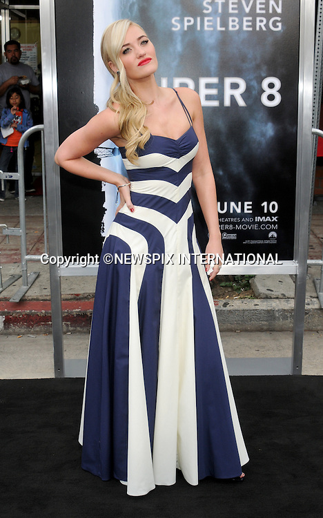 "AMANDA MICHALKA.attends the Los Angeles Premiere of ""Super 8"" at the Regency Village Theater on June 8, 2011, Westwood, California.Mandatory Photo Credit: ©Crosby/Newspix International. .**ALL FEES PAYABLE TO: ""NEWSPIX INTERNATIONAL""**..PHOTO CREDIT MANDATORY!!: NEWSPIX INTERNATIONAL(Failure to credit will incur a surcharge of 100% of reproduction fees)..IMMEDIATE CONFIRMATION OF USAGE REQUIRED:.Newspix International, 31 Chinnery Hill, Bishop's Stortford, ENGLAND CM23 3PS.Tel:+441279 324672  ; Fax: +441279656877.Mobile:  0777568 1153.e-mail: info@newspixinternational.co.uk"